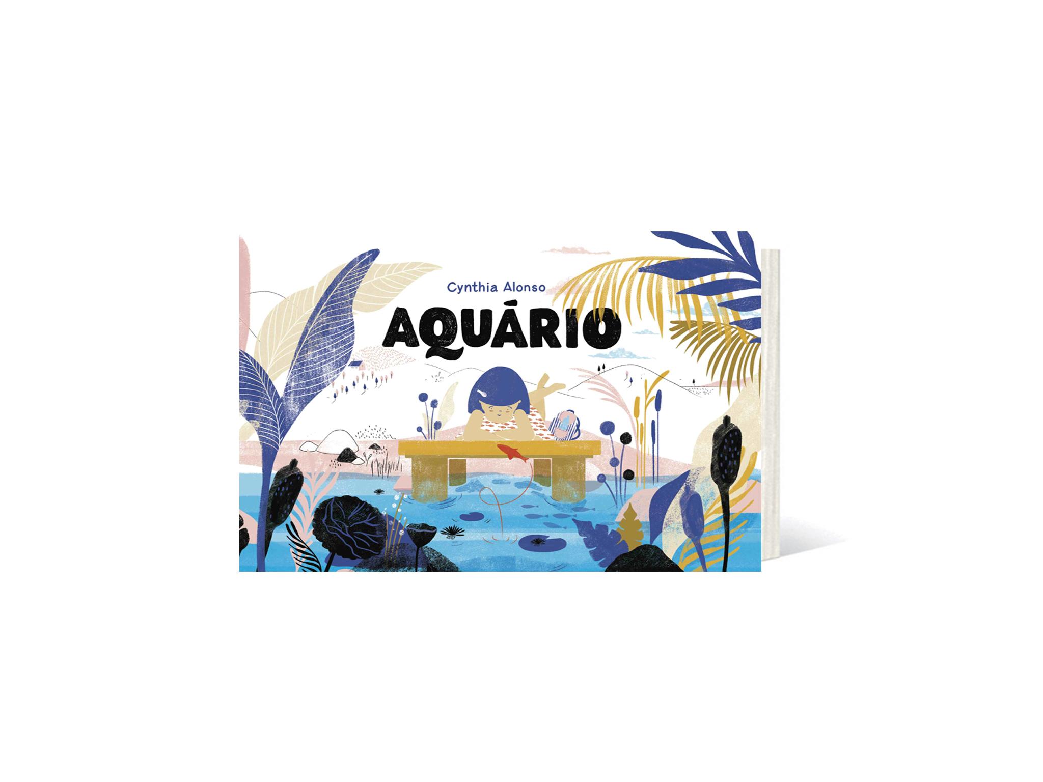 livro aquário