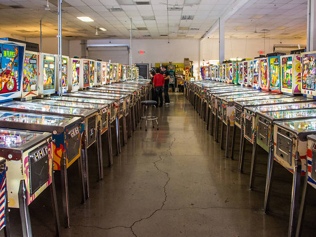 Keep the paddles flipping at the Pinball Hall of Fame