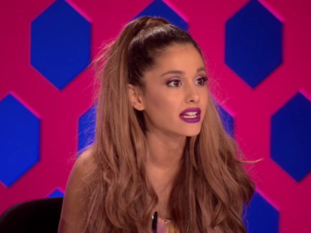 Ariana Grande en RuPaul's Drag Race