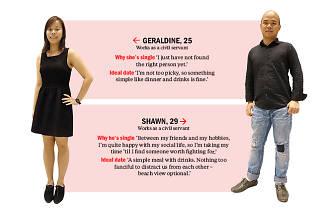Find me a date: Shawn and Geraldine