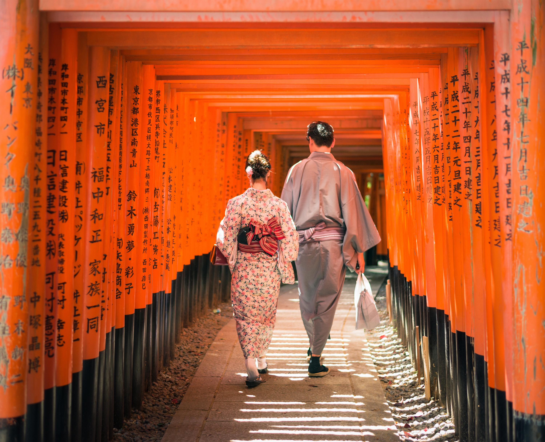 Visit Kyoto's ancient temples