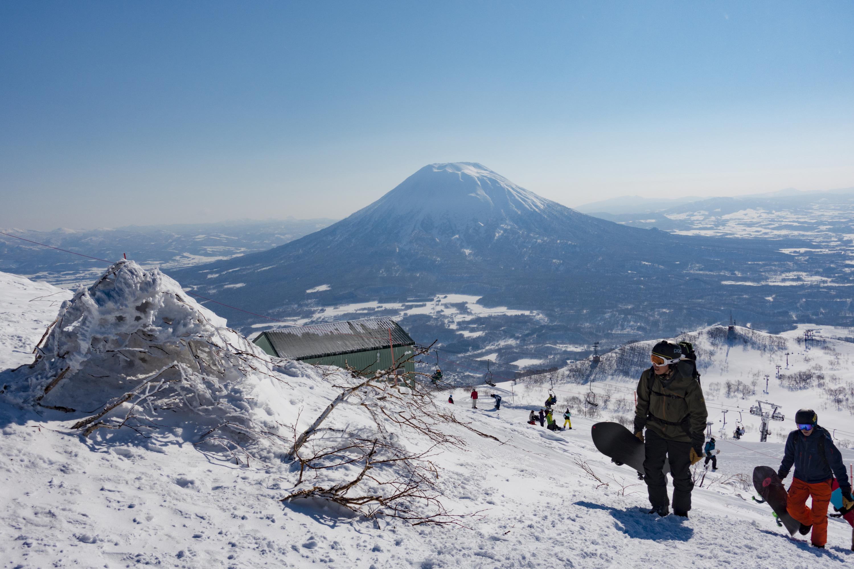 Go skiing in Niseko