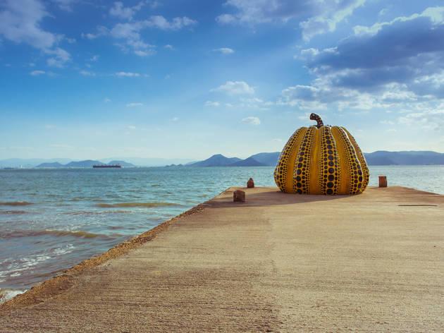 Spend a day at Naoshima art island