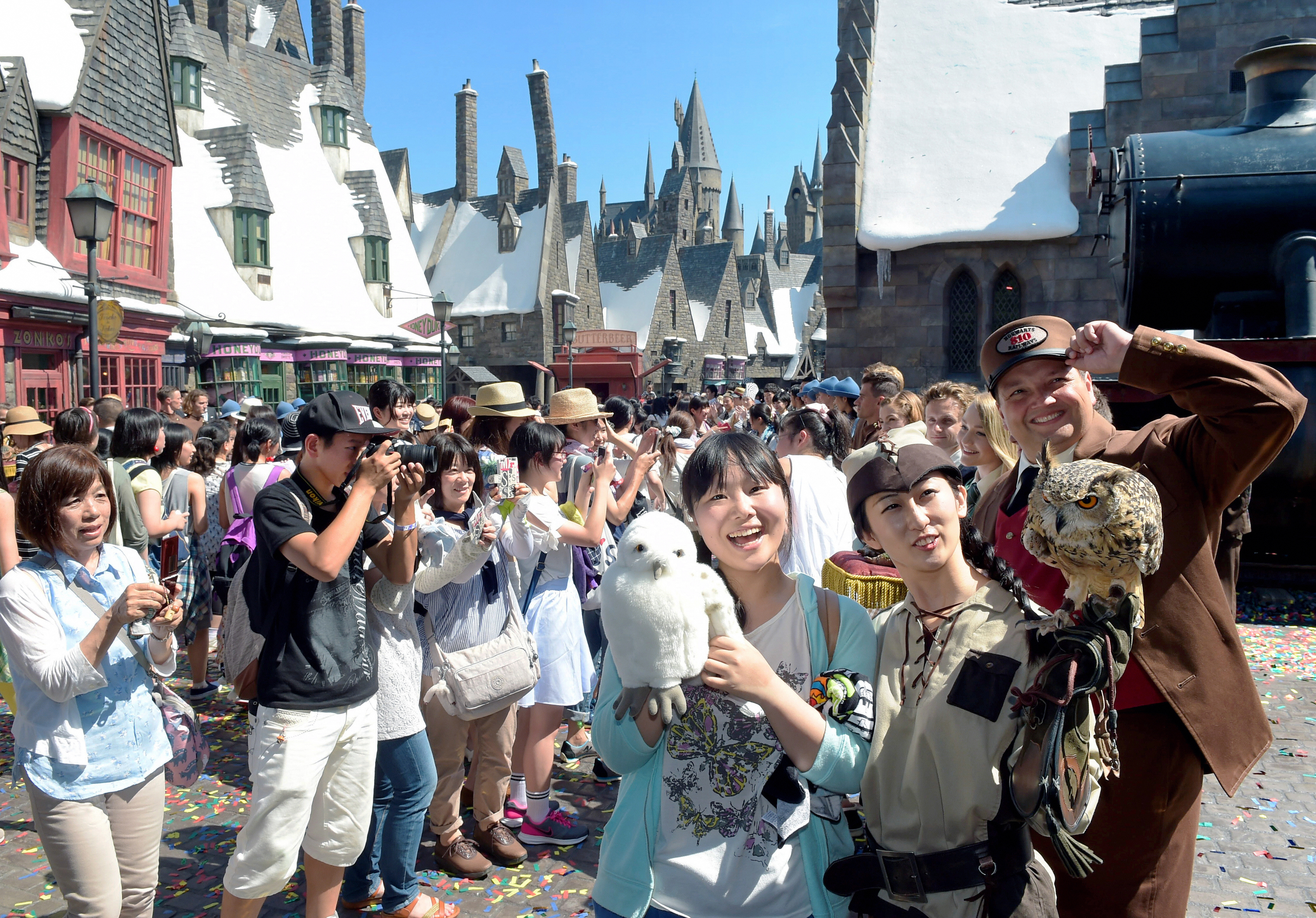Get Lost in the Wizarding World of Harry Potter in Universal Studios Japan