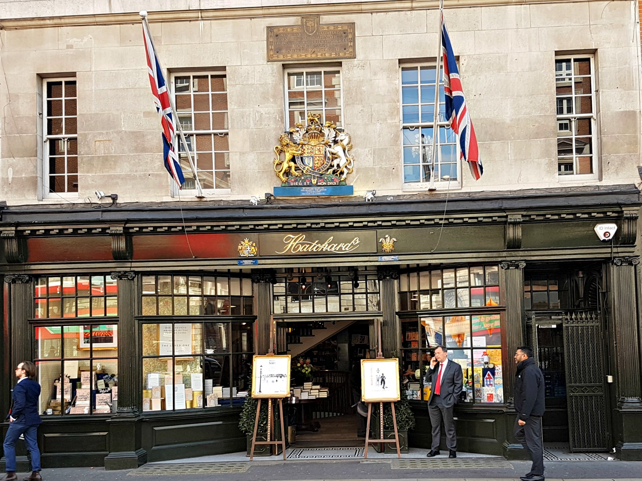 Hatchards, Oscar Wilde's favourite bookshop