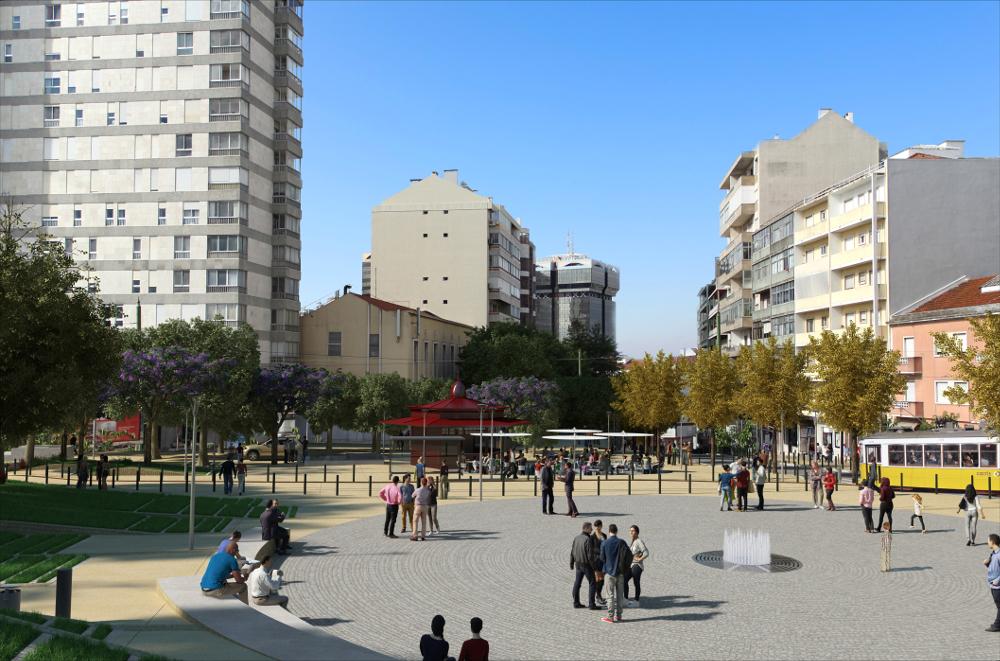 projecto rua de campolide