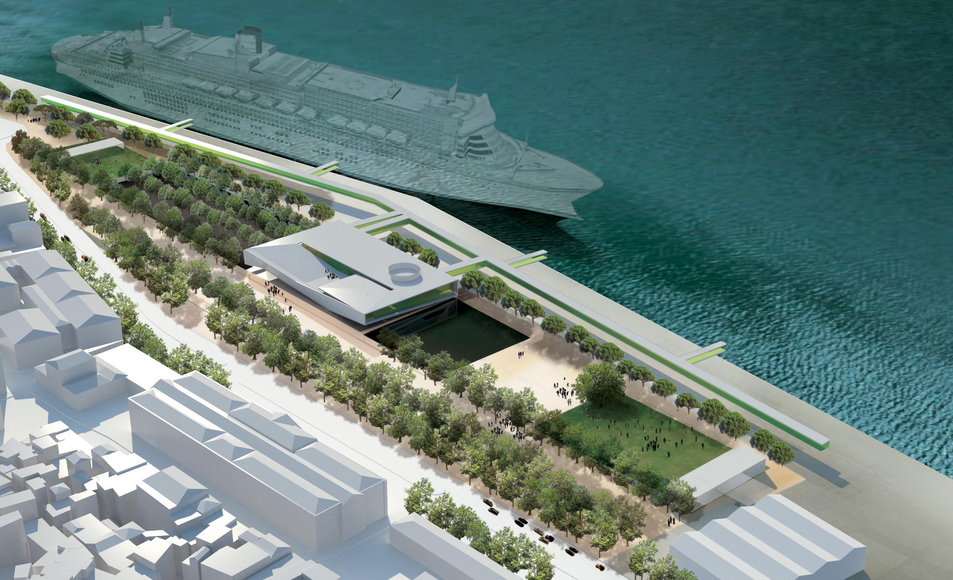 projecto novo terminal de cruzeiros