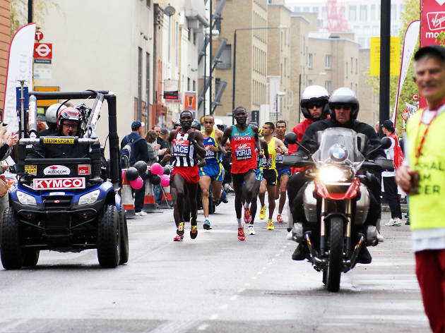 Mile 16 Virgin Money London Marathon