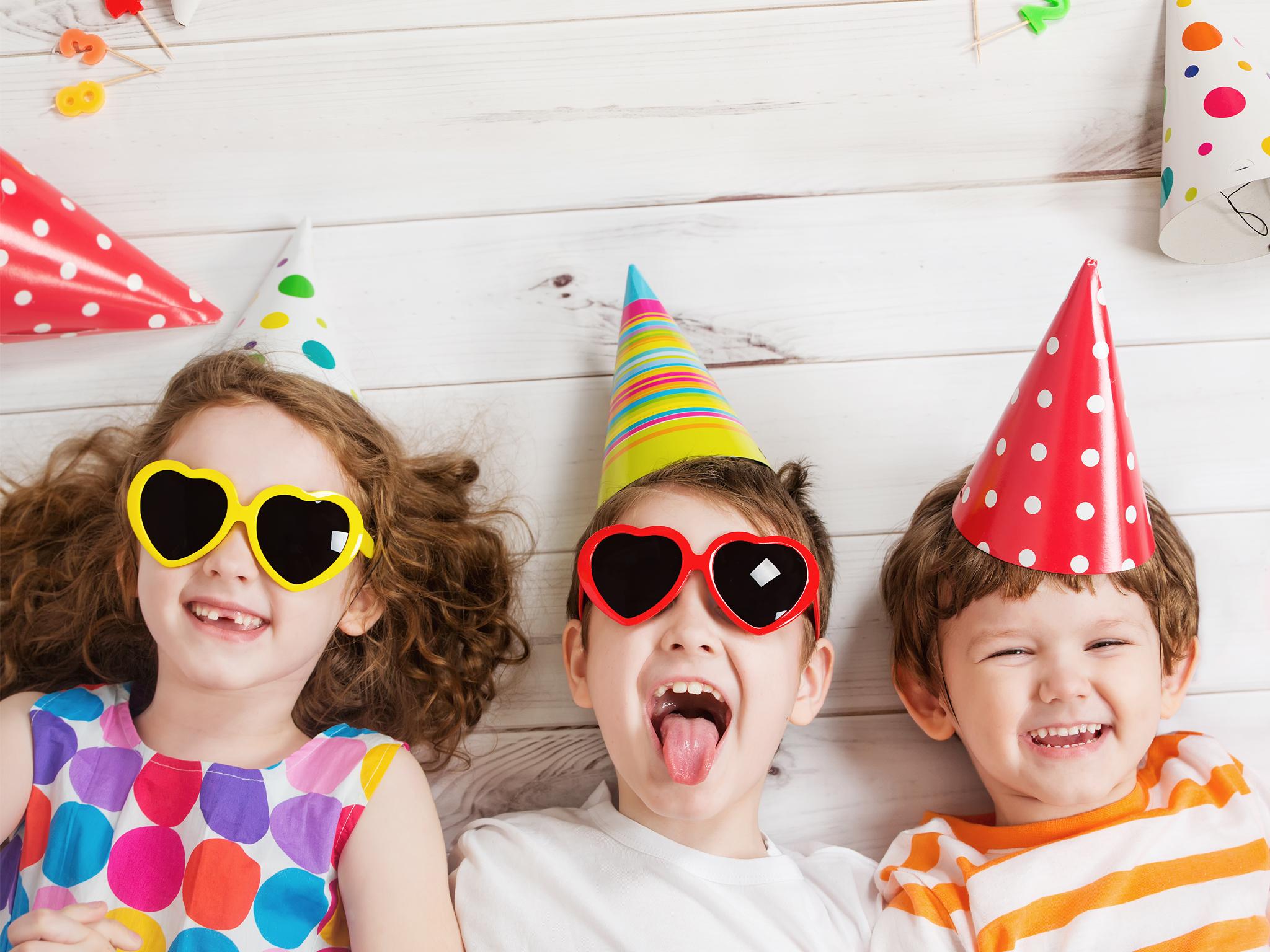 Fiestas para niños a domicilio