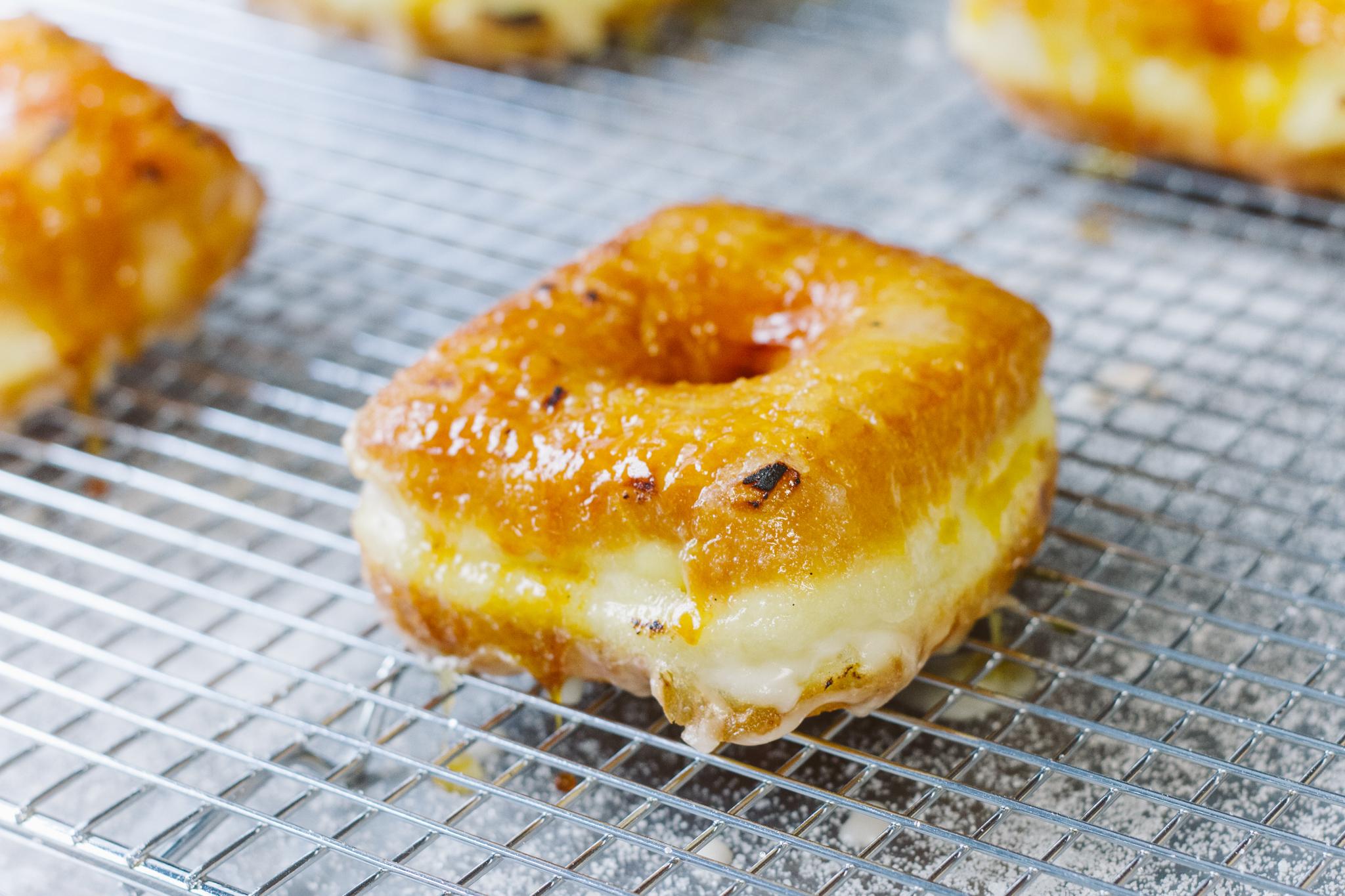 Crème Brûlée Doughnut