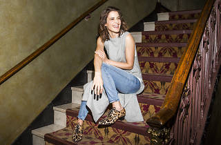 We talked to Cobie Smulders about her Broadway debut and finally living in NYC
