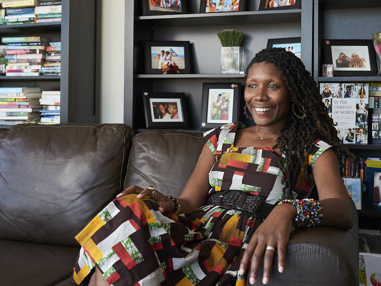 A first-time novelist blossoms in Brooklyn