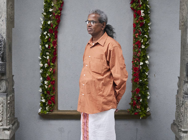 A Hindu temple keeps traditions  alive in Queens