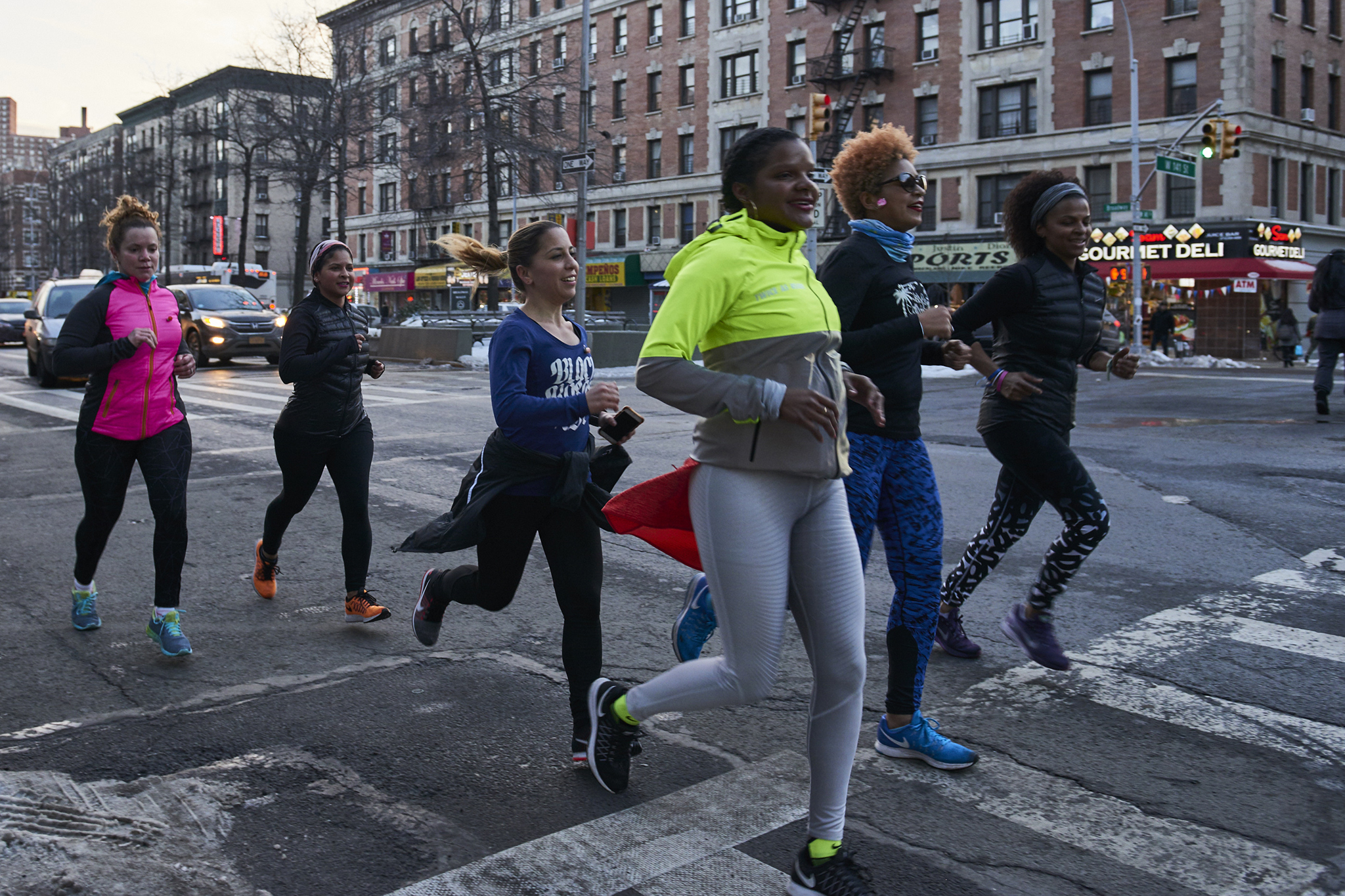 A Latina running group braves the weather