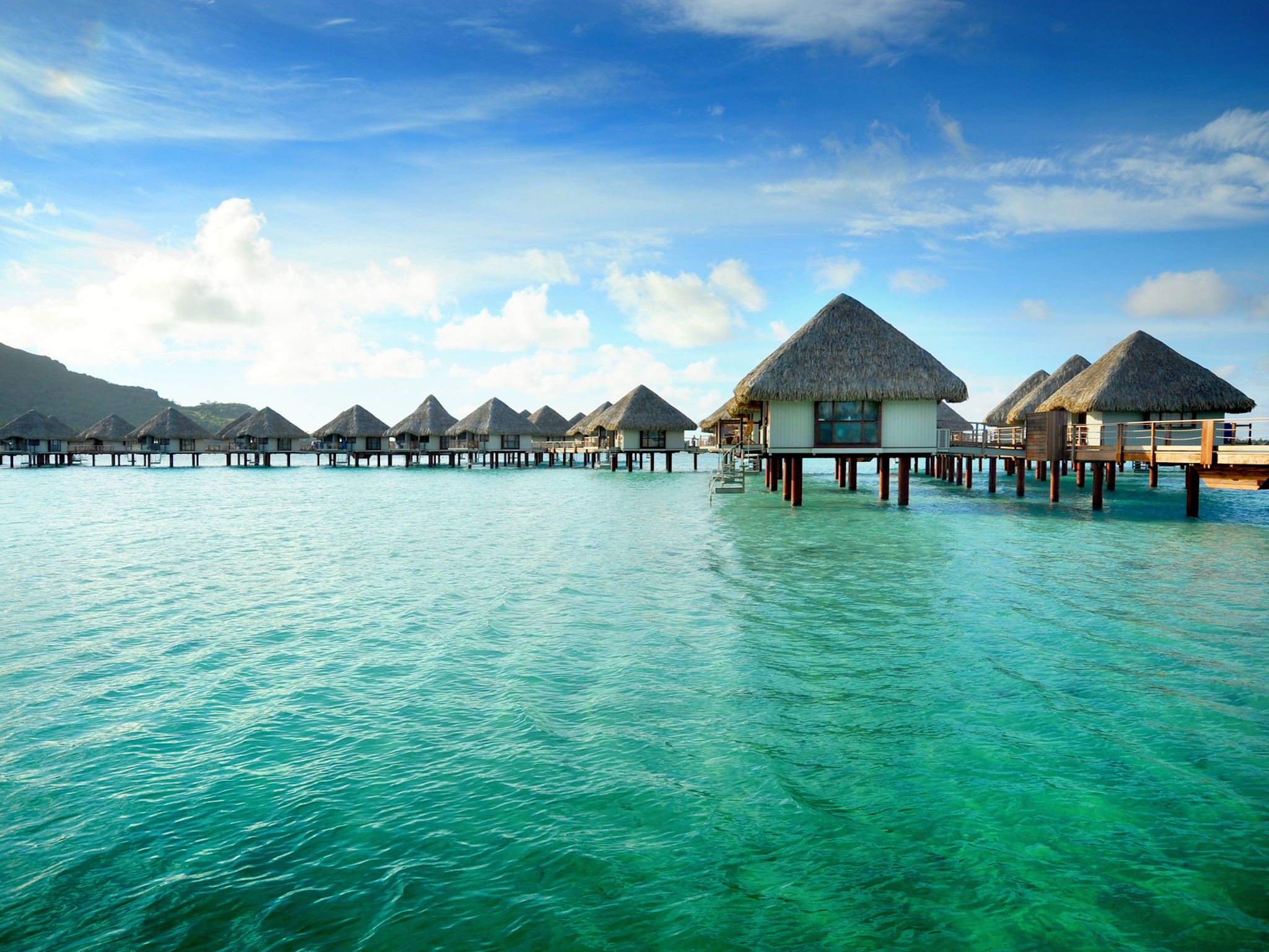 Eight of the world's most beautiful overwater villas