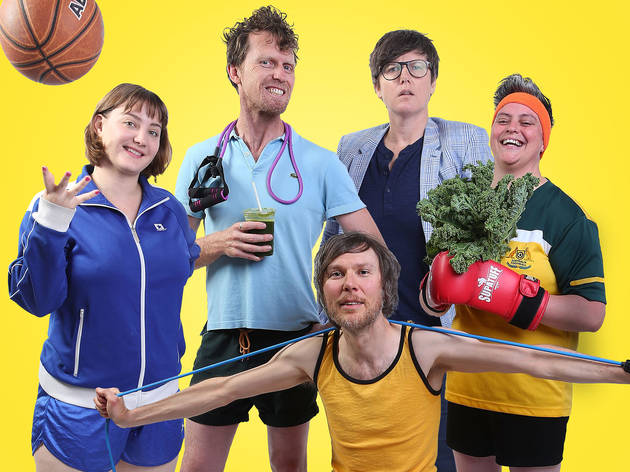 Melbourne Comedy Festival stars talk mental health and the serious side of funny business
