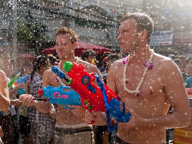Songkran at Khaosan Road