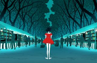 The Night Is Short, Walk on Girl (Yoru wa mijikashi aruke yo otome)