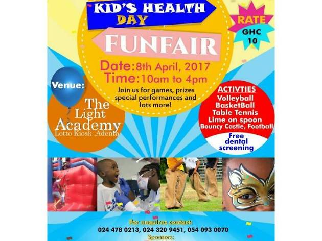 Kids Health Day Fun Fair