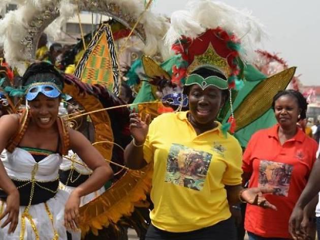 Kokrobite Street Carnival
