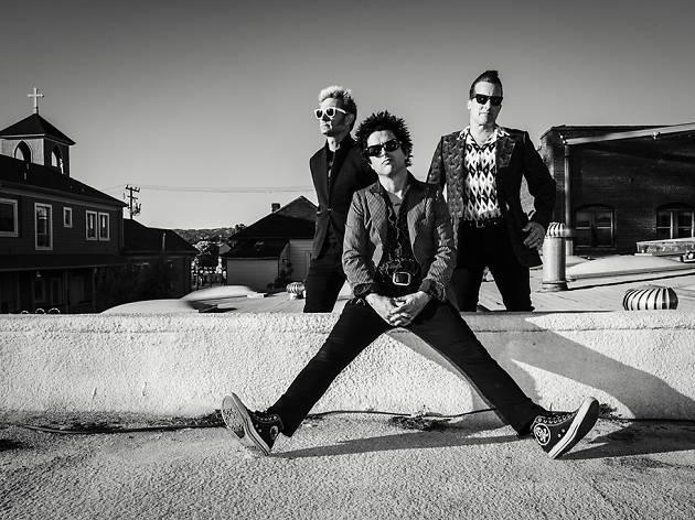 Green Day hits Vegas