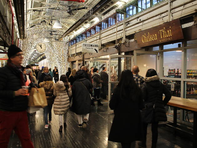 Chelsea Market has a new plan to fix its overcrowding problem