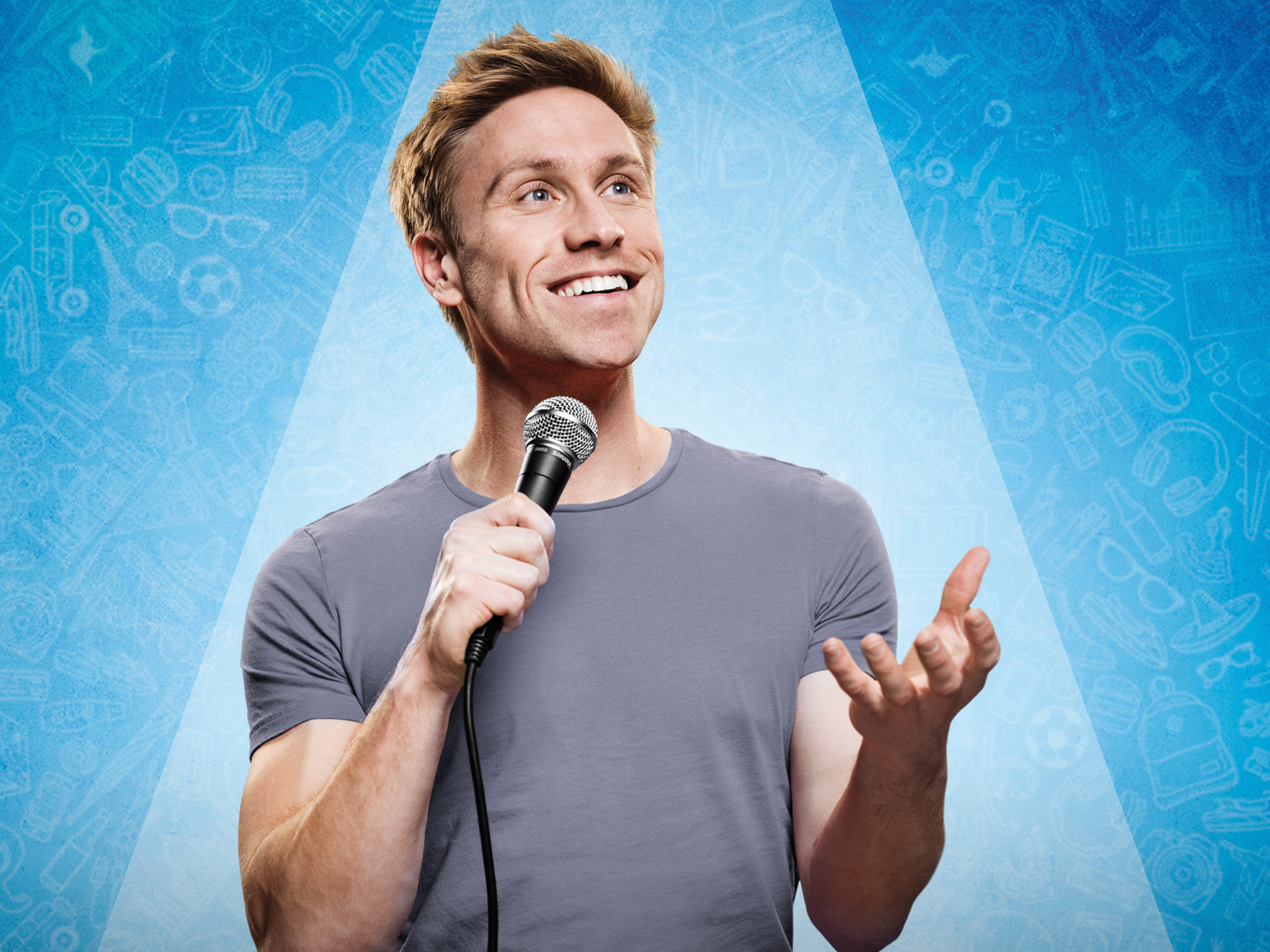 Interview: Russell Howard on his new tour and why it's a fascinating time to be a comedian