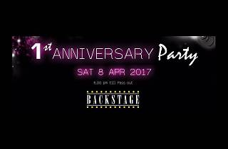 Backstage's 1st Anniversary Party