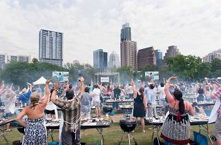 Hands-on grilling with Tim Love at the Austin Food + Wine Festival