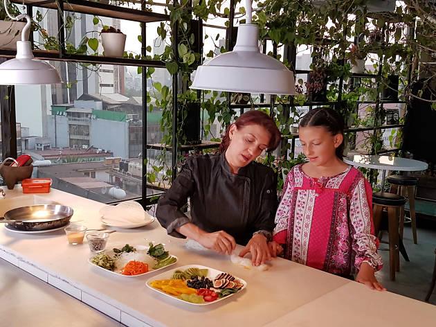 La lonchera del chef: Josefina Santacruz y Luisa