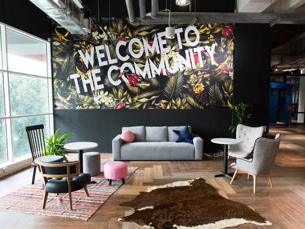 Worq coworking space