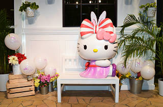 A Whimsical Easter Hello Kitty Orchid Garden