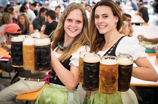Beer festival at Poble Espanyol