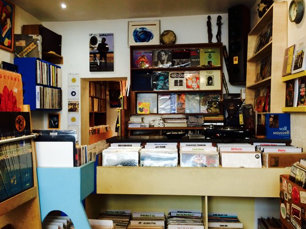 Betino's record shop