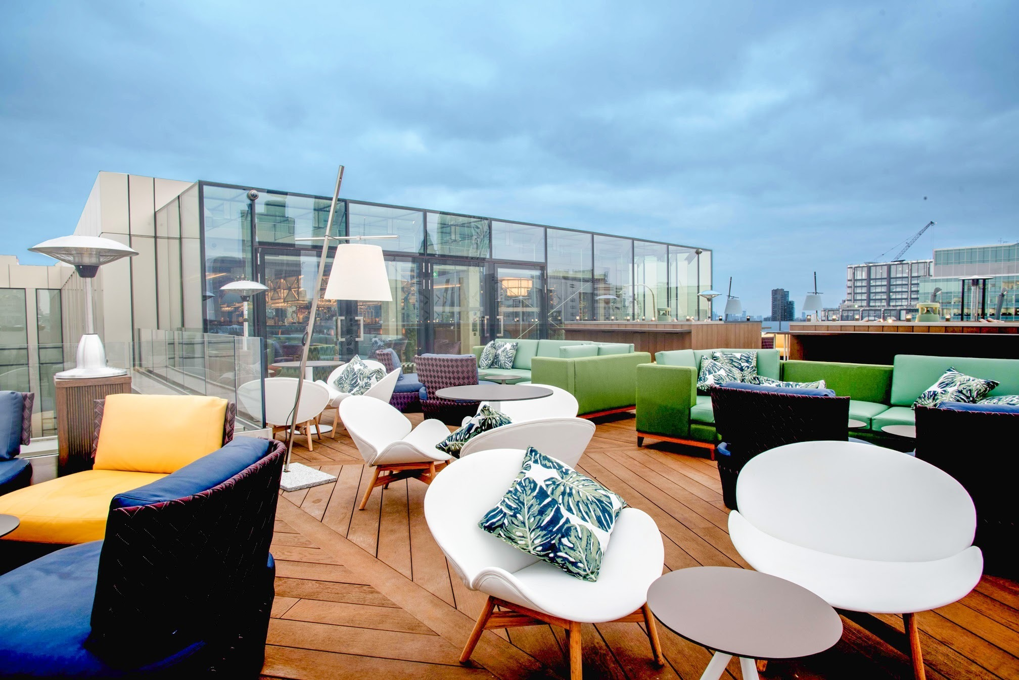rooftop bars in London, Aviary