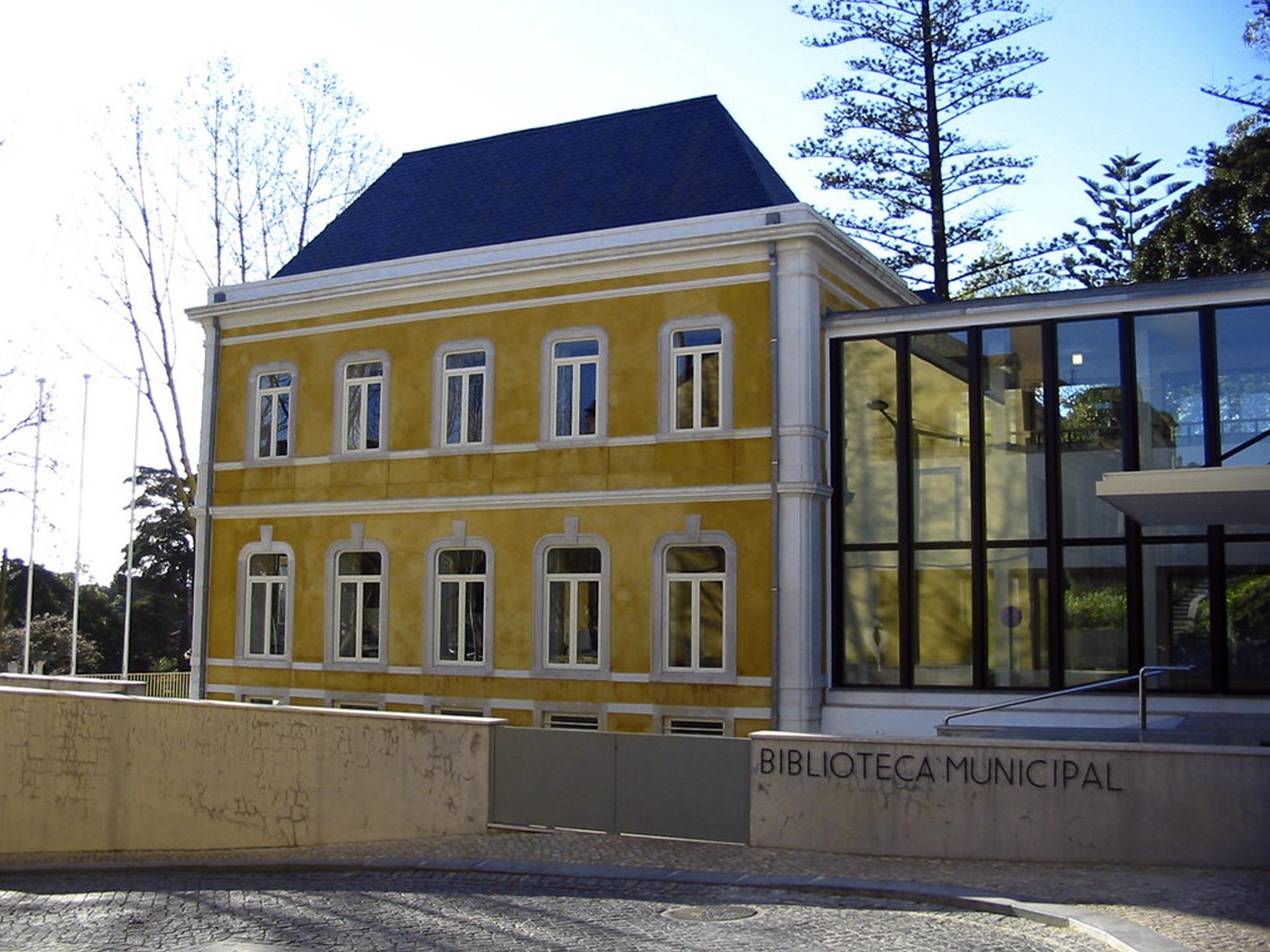 Piquenique de leitura na Biblioteca Municipal de Sintra