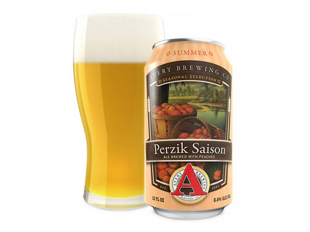 Perzik Saison, Avery Brewing Company, Boulder, Colorado