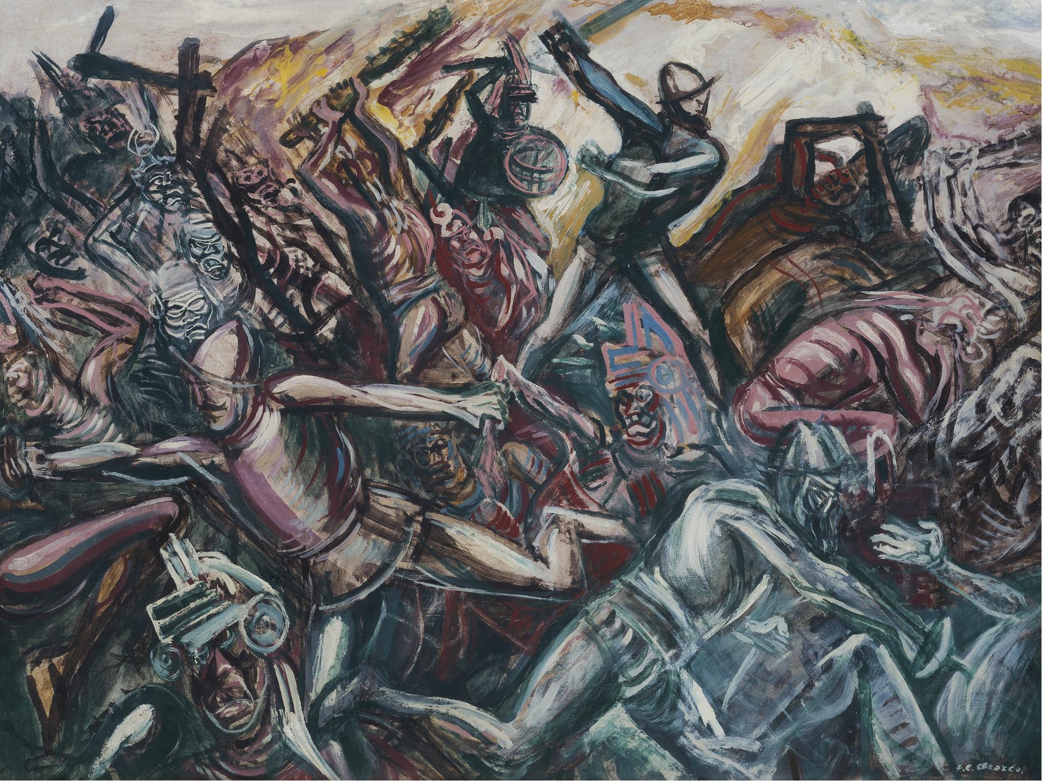 Orozco y los Teules, 1947