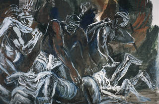 Orozco y los Teules (Foto: Cortesía del Museo de Arte Carrillo Gil)