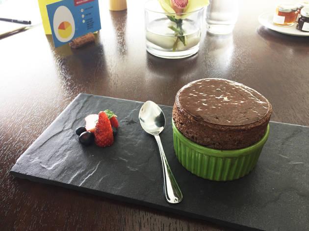 Graze Decadent Valrhona Chocolate Souffle