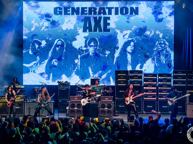 Interview: Steve Vai on his guitar extravangza Generation Axe