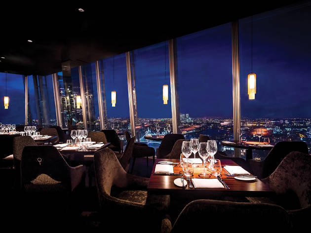 Best Restaurants In London Bridge Aqua Shard