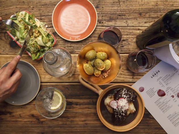best restaurants in london bridge, lobos meat and tapas