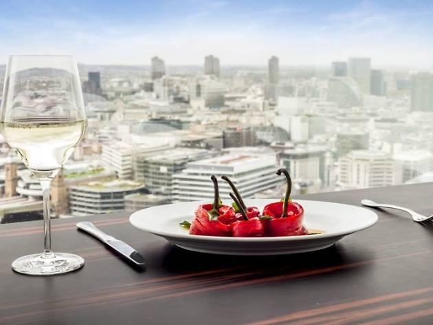 best restaurants in london bridge, oblix