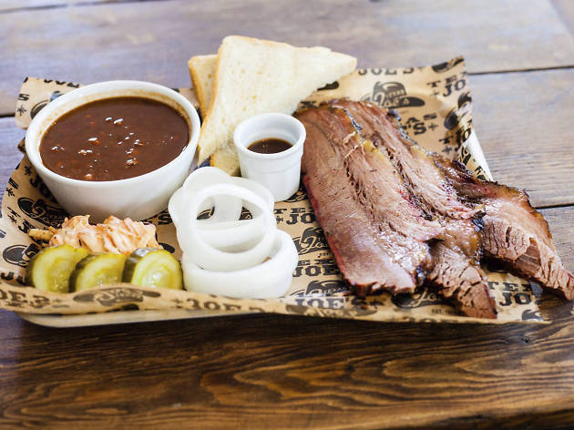 restaurants in london bridge, texas joe's