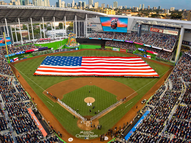 Miami Marlins Opening Day 2016