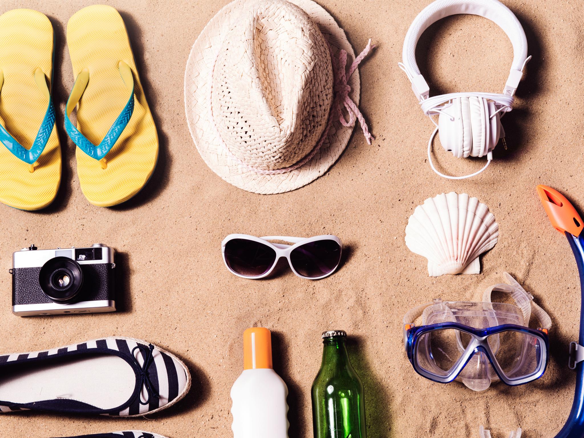 Productos de belleza para vacaciones