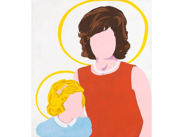 Allan D'Arcangelo, Madonna and Child, 1963