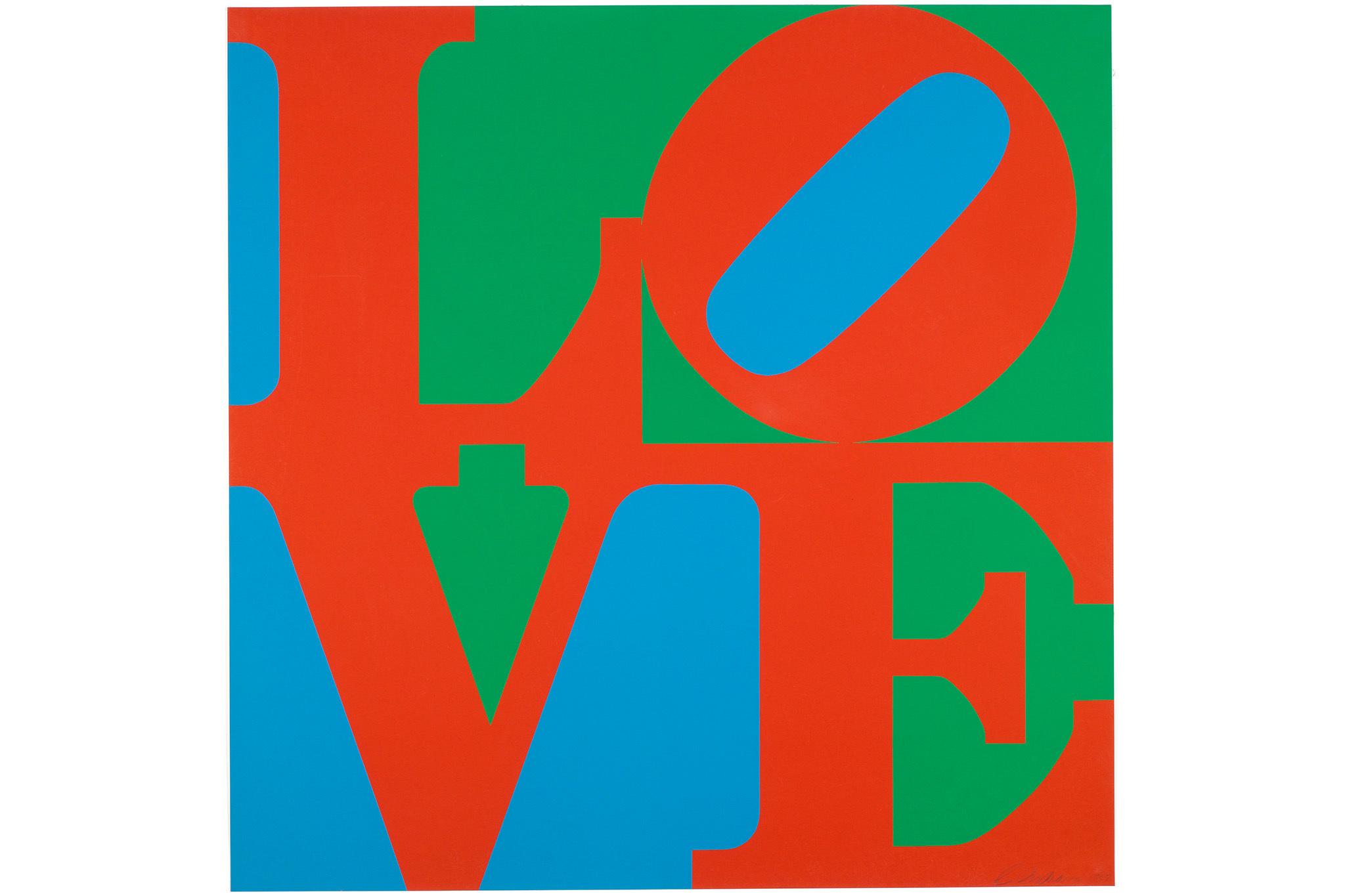 Robert Indiana, LOVE, 1967