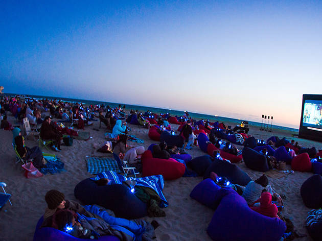 Lamma Beach Cinema